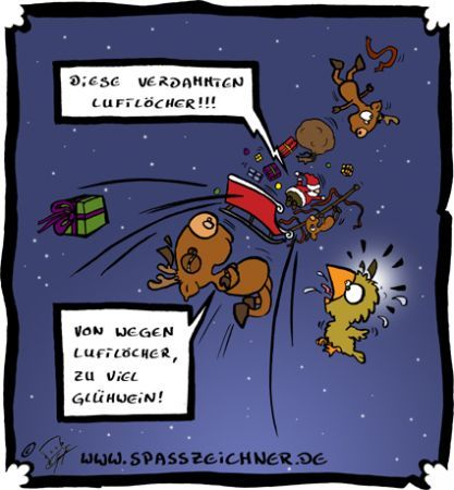 Cartoon: Weihnachtsmann (medium) by Clemens tagged weihnachtsmann