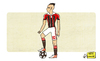 Cartoon: Il Faraone Stephan El Shaarawy (small) by omomani tagged ac,milan,egypt,stephan,el,shaarawy