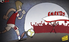 Cartoon: Jack Wilsheres return (small) by omomani tagged arsenal,emirates,jack,wilshere,wenger