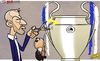 Cartoon: Job cut Abramovich ends Di Matte (small) by omomani tagged abramovich,di,matteo,chelsea,champions,league