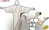 Cartoon: Kaka I belong to Brazil (small) by omomani tagged kaka,brazil