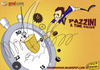 Cartoon: Pazzini a time killer (small) by omomani tagged pazzini,inter,milan,internazionale,cesena,serie,italy,clock,stop,watch,extra,time,football,soccer,cartoon,caricature