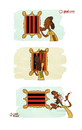 Cartoon: Ronaldinho back to Brazil (small) by omomani tagged ronaldinho flamingo brazil ac milan