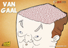 Cartoon: Van Gaal Brain (small) by omomani tagged van,gaal,netherlands,soccer,football,brain
