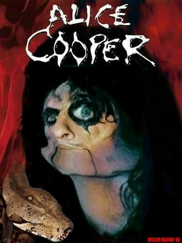 Cartoon: Alice Cooper (medium) by willemrasingart tagged alice,cooper,