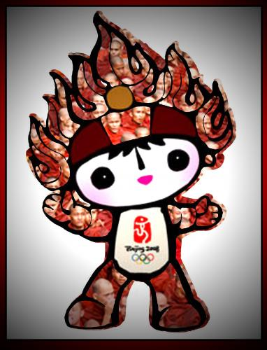 Cartoon: Olympic flame character (medium) by willemrasingart tagged olympic,games,