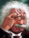 Cartoon: Albert Einstein! (small) by willemrasingart tagged great personalities