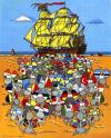 Cartoon: Immigration (small) by willemrasingart tagged immigration,