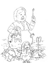 Cartoon: Ronald (small) by weinblatt tagged ronald,mc