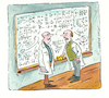 Cartoon: Mathematik (small) by sabine voigt tagged mathematik,universität,vorlesung,wissenschaft,mathematiker,professor,seminar,studium,abitur
