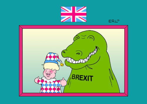 Cartoon: Tories (medium) by Erl tagged politik,brexit,austritt,großbritannien,eu,premierminister,boris,johnson,hardliner,no,deal,missachtung,parlament,demokratie,kaperltheater,kasperl,krokodil,karikatur,erl,politik,brexit,austritt,großbritannien,eu,premierminister,boris,johnson,hardliner,no,deal,missachtung,parlament,demokratie,kaperltheater,kasperl,krokodil,karikatur,erl