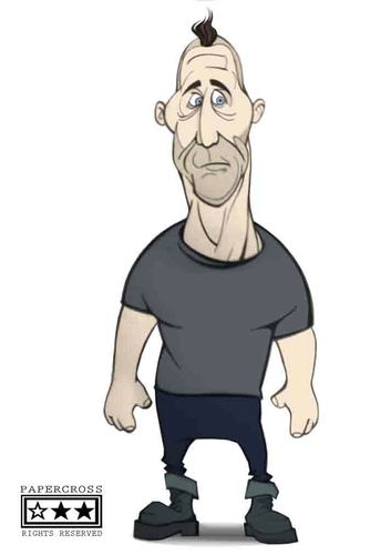 Cartoon: Till LindemanN (medium) by billfy tagged rammstein,music,rock,metal,germany