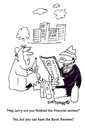 Cartoon: Book reviewer (small) by EASTERBY tagged homeless