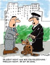 Cartoon: Dogs best friend (small) by EASTERBY tagged police,policedogs