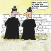 Cartoon: Gemein (small) by EASTERBY tagged catholic,church,priests,toilets