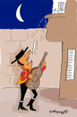 Cartoon: i loveeeeeee youuuuuu (small) by EASTERBY tagged spanish,lover,serenades