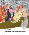 Cartoon: Smoke Signals 29 (small) by EASTERBY tagged smoking health devil