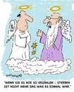 Cartoon: Sterben (small) by EASTERBY tagged angels,death