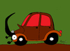Cartoon: Beattle (small) by Munguia tagged beattle,volskwagen,car,bug,munguia