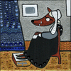 Cartoon: Big bad wolf (small) by Munguia tagged james,mcneill,whistler,arrangement,in,gray,and,black,whistlers,mother,mom,mama,little,red,riding,hood