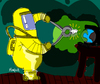 Cartoon: Calzones al Mundo (small) by Munguia tagged munguia,cartoon,exhibicion