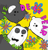 Cartoon: De la Bear (small) by Munguia tagged de la soul feet high and rising cover album parody parodies spoof version fun funny bare bears escandalosos cn cartoon network
