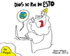 Cartoon: God Laughs (small) by Munguia tagged god,religious,religion,misa