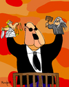 Cartoon: Impunity puppets (small) by Munguia tagged politics,lies,justice,law,judge,buy,influences