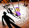 Cartoon: Kru (small) by Munguia tagged korn cover album parodies parody freddy krueger spoof version fun funny
