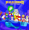 Cartoon: MegaCombo (small) by Munguia tagged megadeath,rust,in,peace,vic,macdonalds,burger,king,kentucky,wendys,kellogs,pizza,cesar,ronald,alien,roger,american,dad,fast,food,death