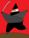 Cartoon: Ninja Star (small) by Munguia tagged ninja,star