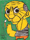 Cartoon: Picasso (small) by Munguia tagged picasso,caricature,portrait,munguia,cartoon,costa,rica,painter,art,sxx