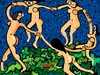 Cartoon: Take your clothes off (small) by Munguia tagged the,dance,henri,matisse,nude,naked,famous,paintings,parodies
