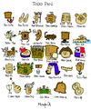 Cartoon: Todo Pan (small) by Munguia tagged pan,bread,munguia,calcamunguias,cartel,costa,rica,sufijos
