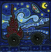 Cartoon: Van (small) by Munguia tagged famous,paintings,parodies,munguia,van,gogh,iconic,paint,starry,night