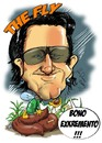 Cartoon: Bono Vox (small) by Martin Hron tagged bono,vox