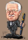 Cartoon: Klaus (small) by Martin Hron tagged klaus