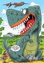 Cartoon: Velikonoce (small) by Martin Hron tagged brontosaurus