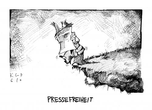 Cartoon: pressefreiheit (medium) by Kostas Koufogiorgos tagged pressefreiheit,presse,pressefreiheit,presse,grund,lüge,zeitung,lesen,abgrund,grundgesetz,wortbruch,unglaube,runterfallen,stürzen,sterben,tod,gefahr,unwahr,geheuchelt