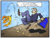 Cartoon: Bankenrettung (small) by Kostas Koufogiorgos tagged karikatur,koufogiorgos,illustration,cartoon,espirito,santo,bank,portugal,eu,europa,rettung,euro,krise,fall,wirtschaft,politik