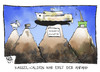 Cartoon: Flughafen Kassel-Calden (small) by Kostas Koufogiorgos tagged kassel,calden,flughafen,zugspitze,hafen,steuergeld,wirtschaft,grossprojekt,berg,gebirge,karikatur,kostas,koufogiorgos