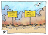 Cartoon: Flutkatastrophe (small) by Kostas Koufogiorgos tagged flutkatastrophe,hochwasser,deutschland,halle,magdeburg,elbe,saale,fluss,karikatur,koufogiorgos