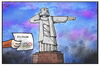 Cartoon: Kosten für Olympia (small) by Kostas Koufogiorgos tagged karikatur,koufogiorgos,illustration,cartoon,olympia,jesus,statue,rio,olympische,spiele,sport,grossereignis,kosten,wirtschaft,finanzen,notstand