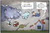 Cartoon: Sturm im April (small) by Kostas Koufogiorgos tagged karikatur,koufogiorgos,illustration,cartoon,sturm,niklas,orkan,tief,april,fliegen,wetter,klima,unwetter,scherz,aprilscherz