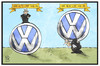 Cartoon: VW-Chef (small) by Kostas Koufogiorgos tagged karikatur,koufogiorgos,illustration,cartoon,vw,volkswagen,winterkorn,müller,automobil,industrie,wirtschaft,chef,manager,abgasskandal,dieselgate