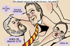 Cartoon: Politics in Catalonia (small) by Conntra tagged catalonia,spain,politics