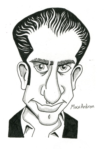 Cartoon: Michael Imperioli Caricature (medium) by maxardron tagged michaelimperioli,caricature,thesopranos,davidchase