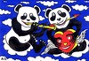 Cartoon: Panda (small) by ARSEN GEVORGYAN tagged arsen,gevorgyan