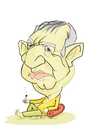 Cartoon: ? (small) by Babak Mo tagged babakm,cartoons,karikatur