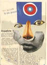 Cartoon: Collage (small) by Babak Mo tagged babakmo,dada,art,kunst,1950,1970,1960,2015,old,paper,magazine,collage,dadaism